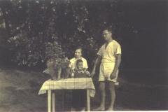 Eine Familie auf Reiswerder 1939